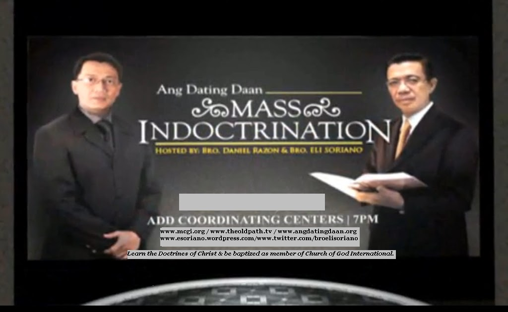 And dating daan doctrines of men
