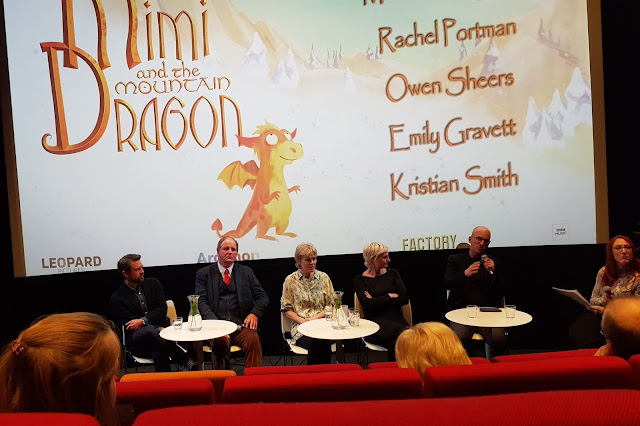 Mimi and the mountain dragon panel morpurgo portman gravett sheers