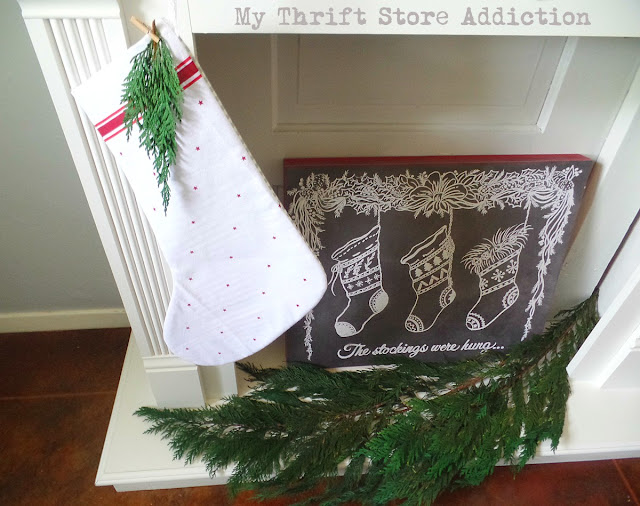 DIY Farmhouse stockings