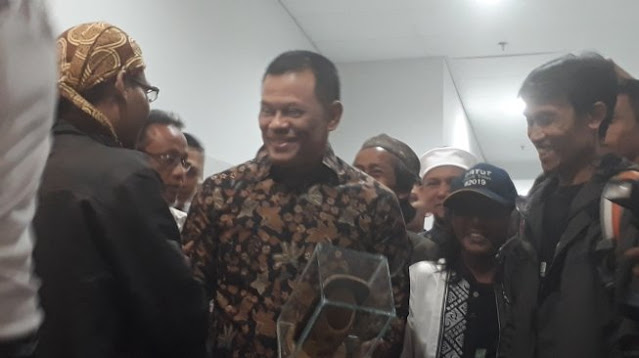 Kronologis Polisi Bubarkan Acara KAMI saat Gatot Nurmantyo Lagi Pidato