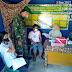 Putus Penyebaran Covid-19 Babinsa Koramil 05/LA Pantau Serbuan Vaksinasin di Posko PPKM Nagari Singguling