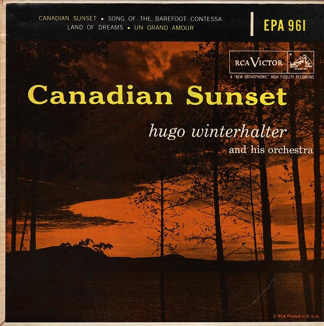 Image result for hugo winterhalter canadian sunset