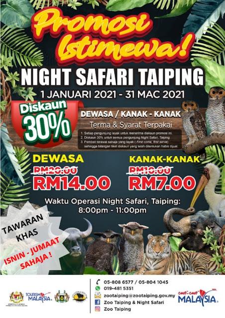 """TOURISM MALAYSIA Melancarkan Kempen Diskaun Hebat CUTI-CUTI MALAYSIA """"SANTAI DI ZOO"""""""