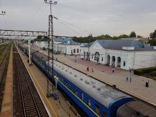 Мелітополь. Залізнична станція