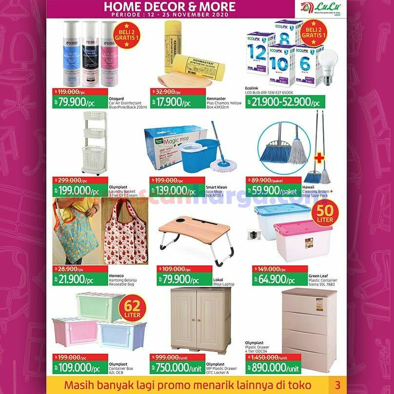 Katalog Promo LULU Supermarket 12 - 25 November 2020 3
