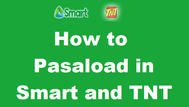 Pasaload in Smart and TNT
