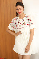 Lavanya Tripathi in Summer Style Spicy Short White Dress at her Interview  Exclusive 168.JPG