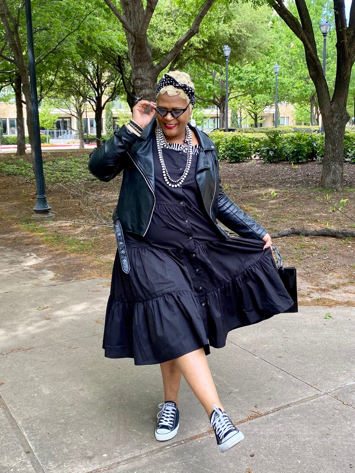 Tangie Bell is spilling the beans on where she finds her black dress, converse, ghoul shades, handbags black jacket and more.Judge My Style Sometimes I Shop