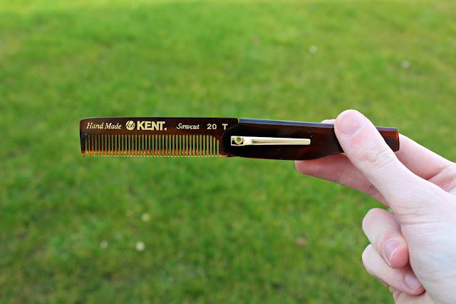 foldable comb men's fashion