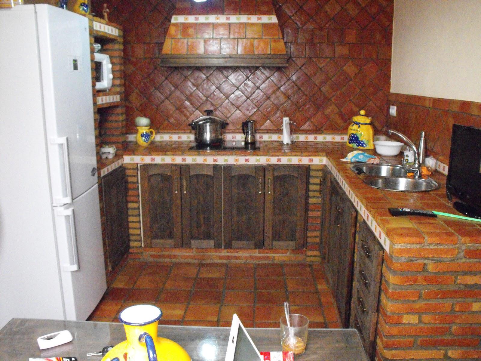 Suelos de barro cocina r stica - Suelos para cocinas rusticas ...