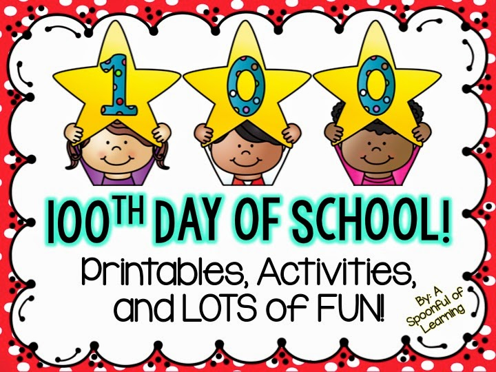 A Spoonful of Learning 100th Day of School!