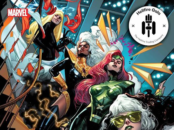 O visual dos X-Men na nova saga Hellfire Gala: capas e variantes