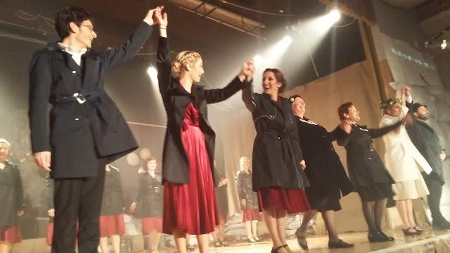 Ο Γιάννης Γκιόλας στη θεατρική παράσταση «Με το ίδιο βήμα θα γυρίσω» του Πολιτιστικού Συλλόγου Ν. Κίου