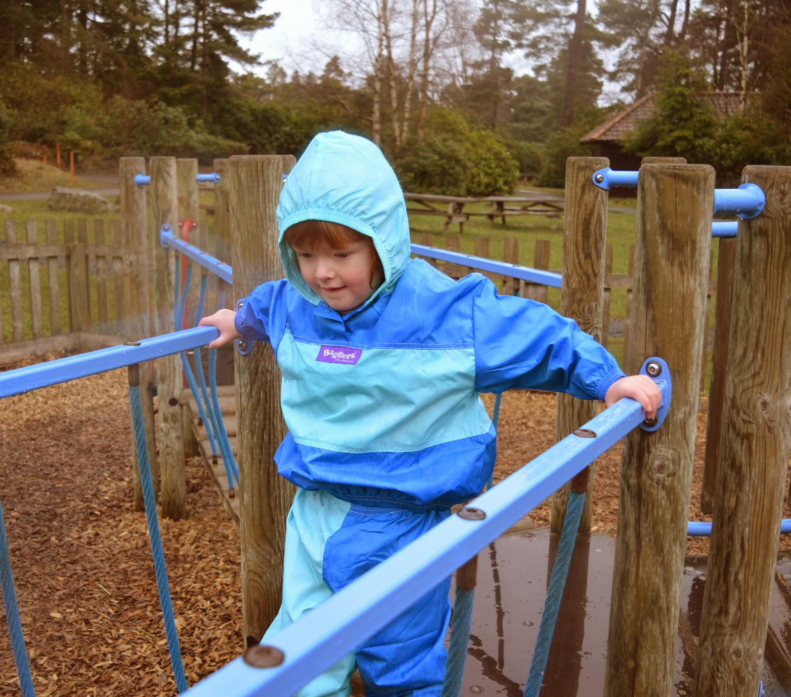 Christmas & Santa at Cragside Review  - winter playground