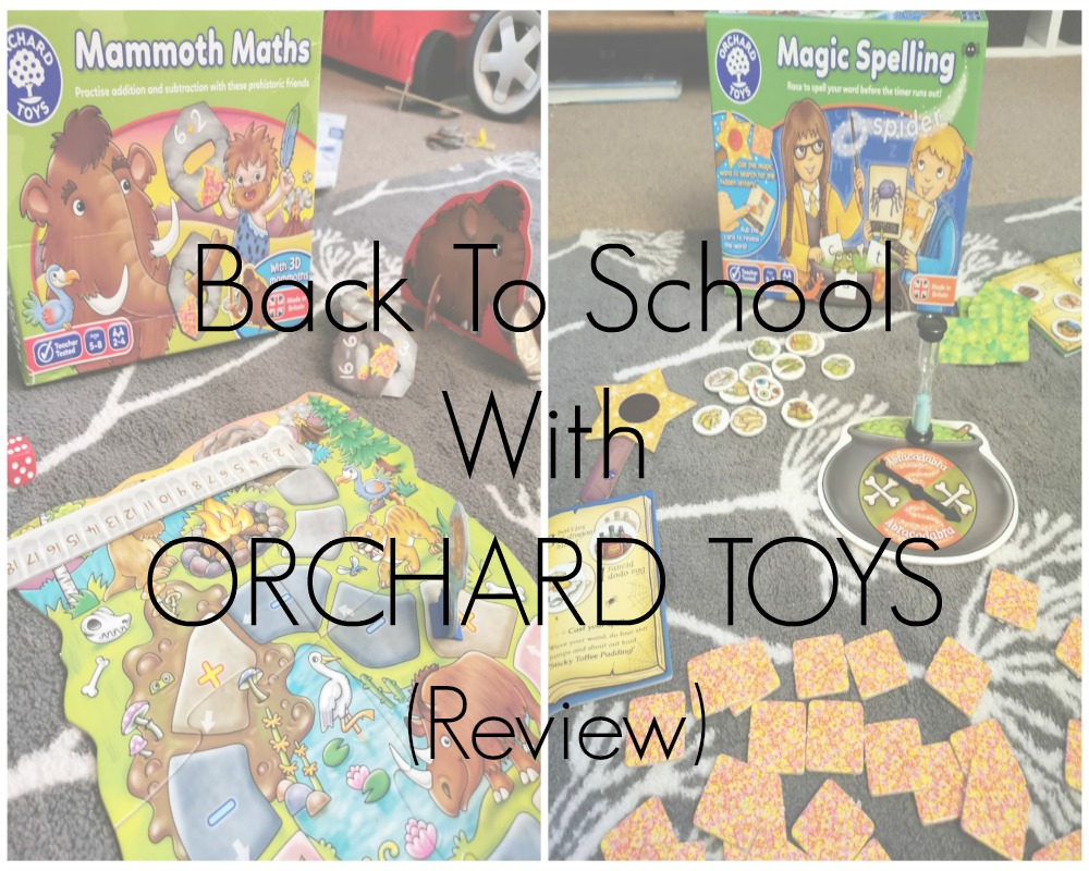 Back To School With Orchard Toys - Educational Games Review