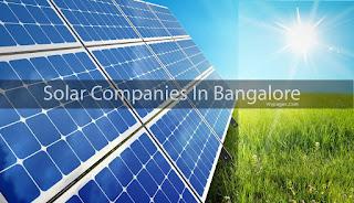 Solar Companies In Bangalore