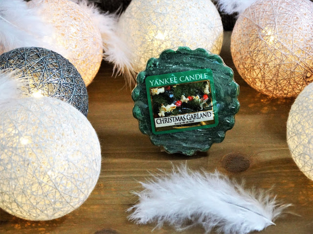 Avis Christmas Garland de Yankee Candle - BOUGIES ET CIRES PARFUMEES - blog bougie - blog parfum