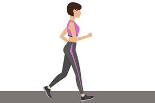 Bài tập thể dục cho bà bầu: đi bộ nhanh