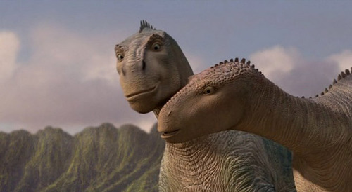 Aladar and Neera Dinosaur 2000 animatedfilmreviews.filminspector.com