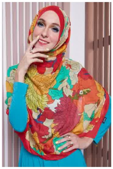 Contoh Hijab Modern Edisi Lebaran 2016