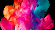 Colorful Smoke HD Mobile Wallpaper