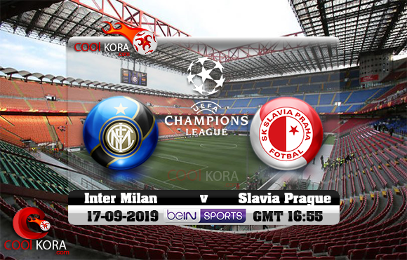 مشاهدة مباراة إنتر ميلان وسلافيا براغ اليوم 17-9-2019 في دوري أبطال أوروبا