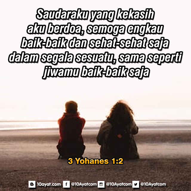 3 Yohanes 1:2