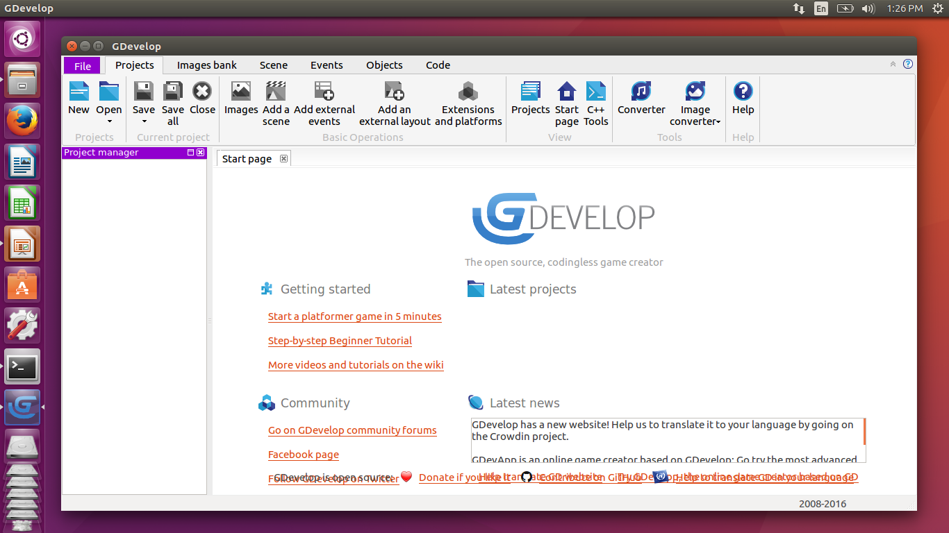 How To Install GDevelop Game Engine on Ubuntu