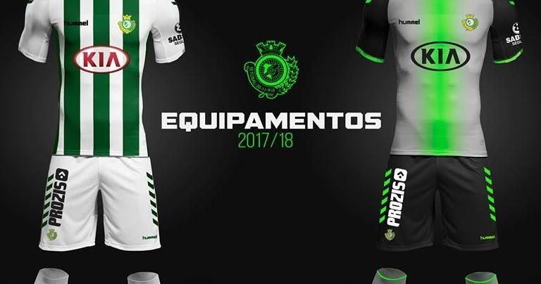 Hummel divulga as novas camisas do Vitória de Setúbal - Show de Camisas f4f9c5ab553cf