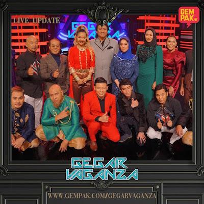 Markah dan Kedudukan Peserta Minggu 2 Gegar Vaganza 2019 (GV6)