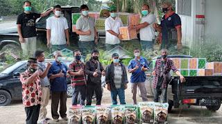 Apresiasi Insan Pers di Masa Pandemi, PetroChina Salurkan Bantuan Sembako