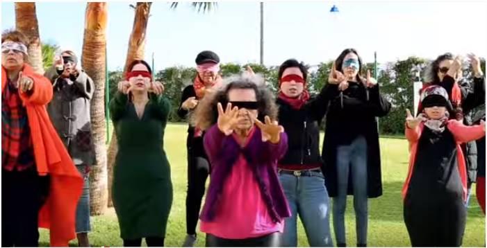 مغربيات يؤدين أغنية ' المغتصب هو أنت' للمطالبة بحقوقوهن
