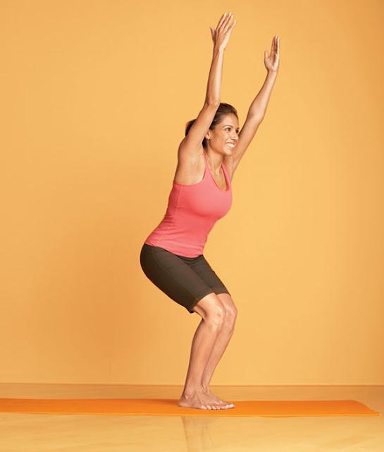 tu the tap yoga ghe ngoi