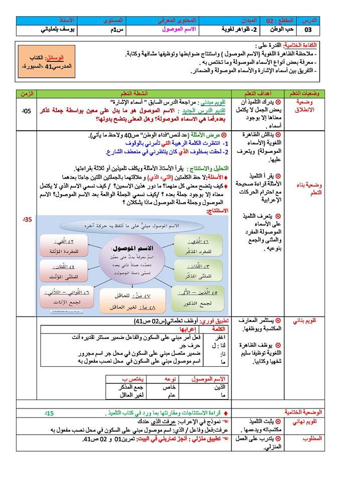 مذكرات اللغة العربية للسنة الثانية متوسط الجيل الثاني 14876467_299133887152332_477557731856040131_o