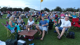Panama City Beach, Summer Concert Series at Aaron Bessant Park