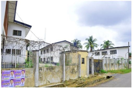 Rashidi yekini abandoned house in ibadan