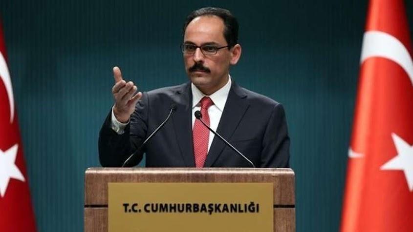 Καλίν: Η Τουρκία είναι έτοιμη να αποκαταστήσει τις σχέσεις της με τον Αραβικό κόσμο