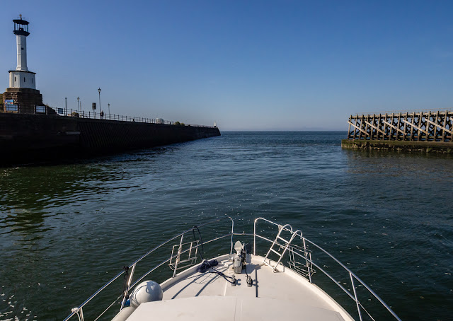 Photo of Ravensdale leaving Maryport