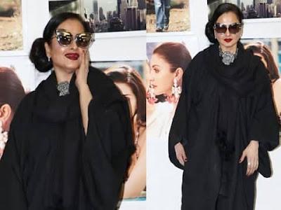 Rekha Reaction on Amitabh Bachchan Photo Video Viral Dabboo Ratnani 2019 Calendar