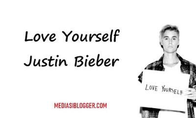 lirik lagu love yourself