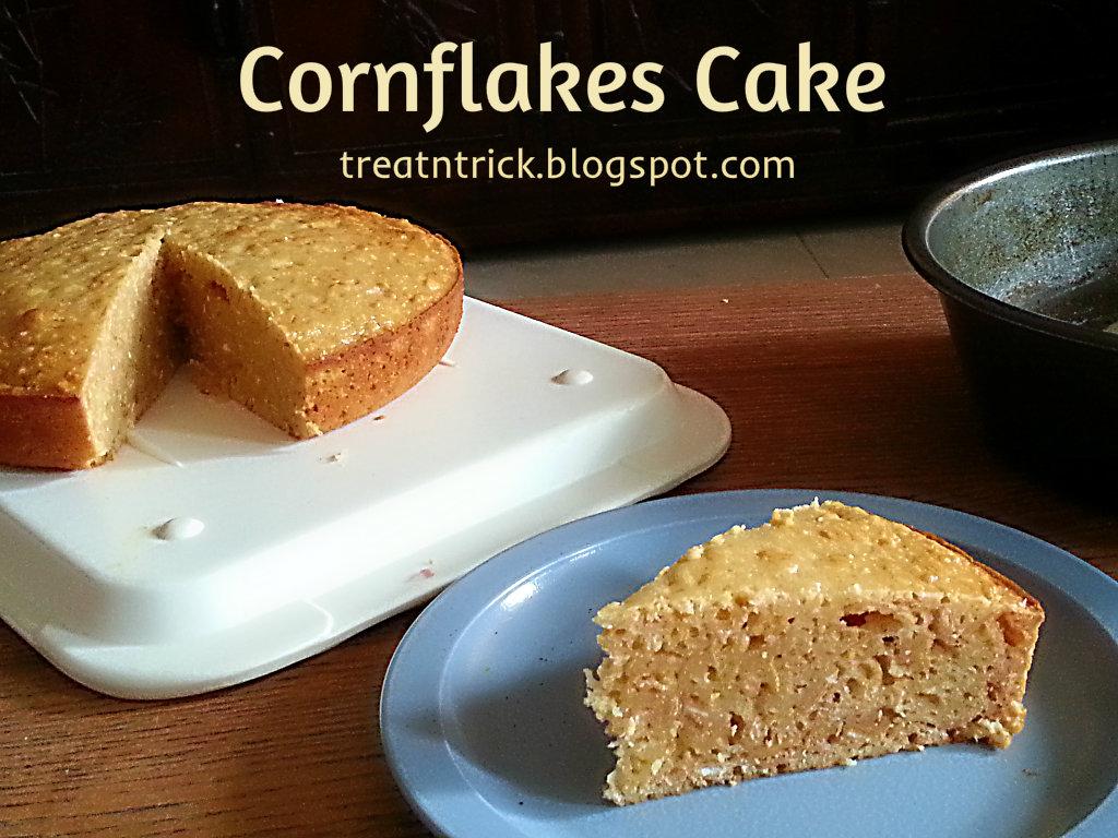 Treat trick cornflakes cake recipe cornflakes cake recipe forumfinder Choice Image