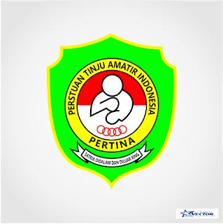 Persatuan Tinju Amatir Indonesia (PERTINA) Logo Vector cdr