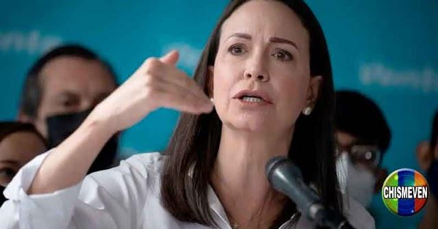 Intentaron chantajear a María Corina Machado para participar en las fraudulentas de Maduro y Guaidó