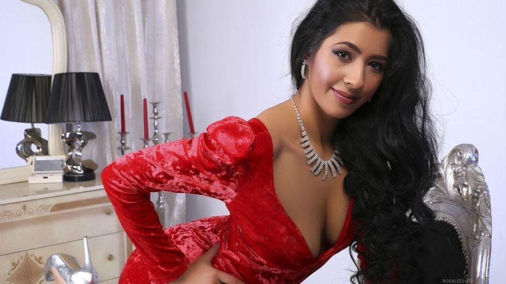 RosaleeSoto Model GlamourCams