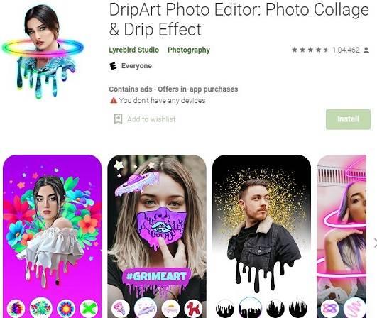 dripart-photo-editor-app