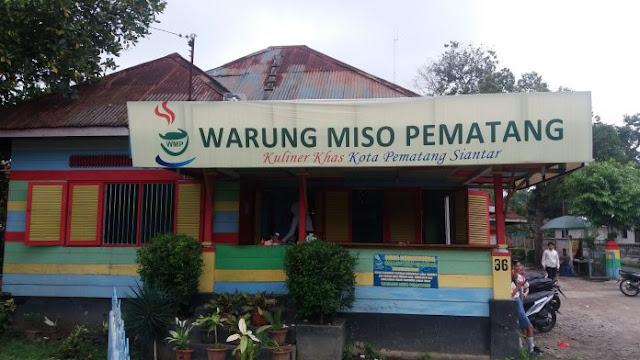 Warung MISO Pematang, Kuliner Khas Kota Pematangsiantar