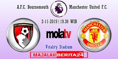 Prediksi AFC Bournemouth vs Manchester United — 2 November 2019
