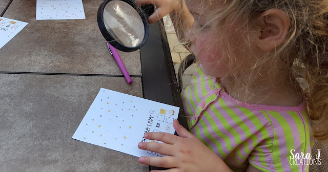 Pirate I Spy cards are fun counting practice for kids. I love that there is a free printable!