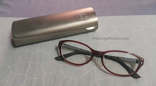 I See Red (New Eyeglasses from EO - Executive Optical)