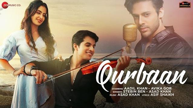 Qurbaan Lyrics - Stebin Ben Ft Asad Khan